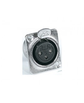 Conector XLR Hembra Proel XLR3FDL