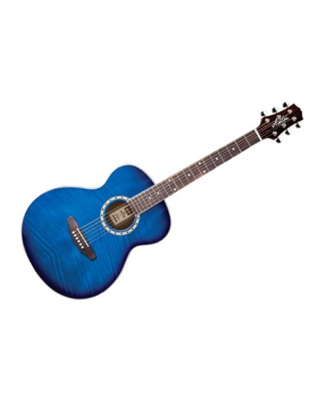 Guitarra Acústica Electrificada Ashton SL29CEQTBB