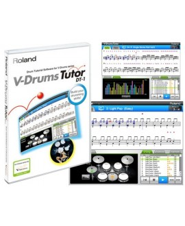 Software Tutorial V-Drums Roland DT-1
