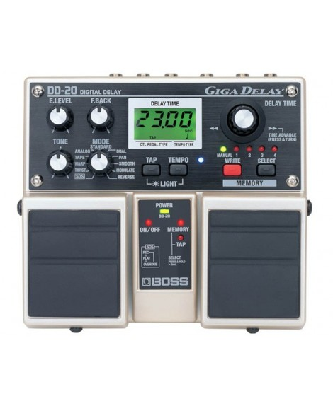 Pedal Doble Boss DD-20 Giga Delay