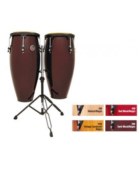 Set Congas Latin Percussion Aspire Wood LPA-646