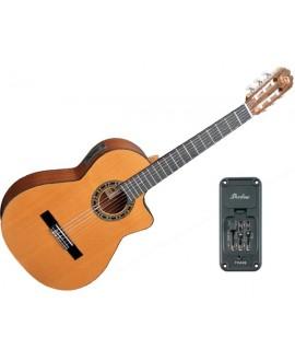 Guitarra Clásica Electrificada Admira Málaga EC