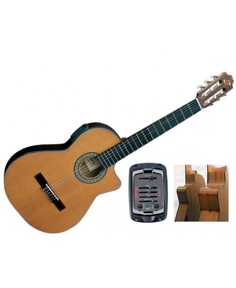Guitarra Clásica Electrificada Admira Virtuoso ECT